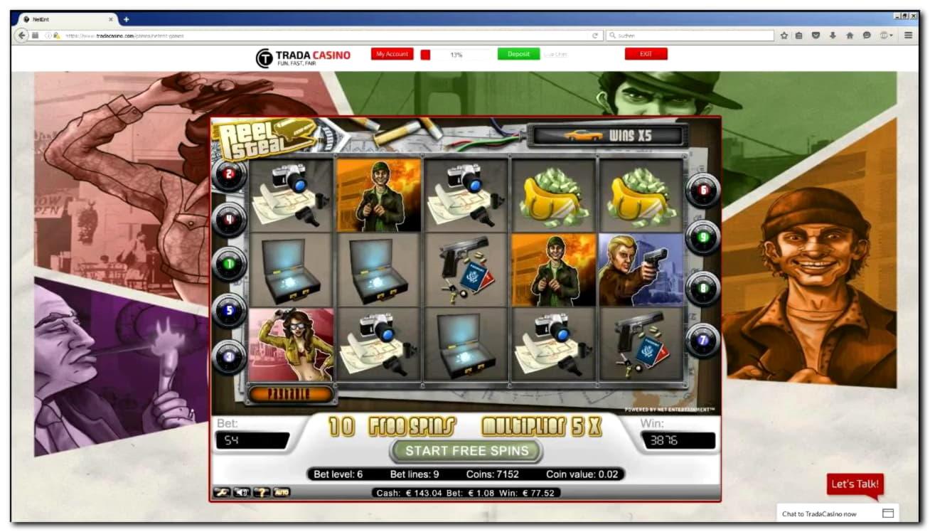 $ 500 gratis casinobillet på Wunderino Casino