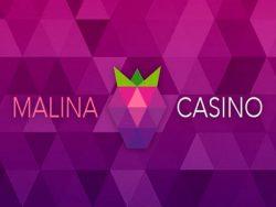 210% Deposit match bonus at Malina Casino